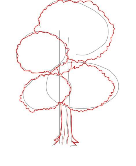 Árvore 2 2 - Aprender a Desenhar Árvores e Arbustos