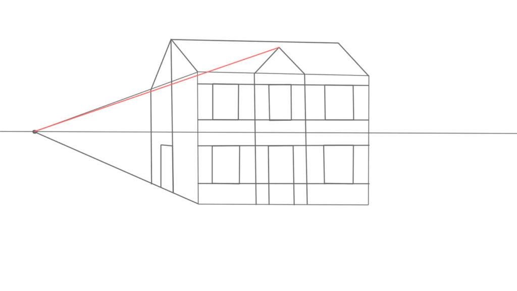 Aprender a desenhar casa de lado 11 1024x578 - Como desenhar uma casa de lado