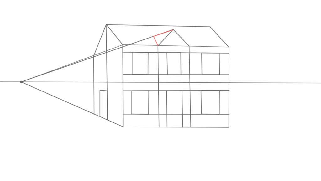 Aprender a desenhar casa de lado 12 1024x578 - Como desenhar uma casa de lado