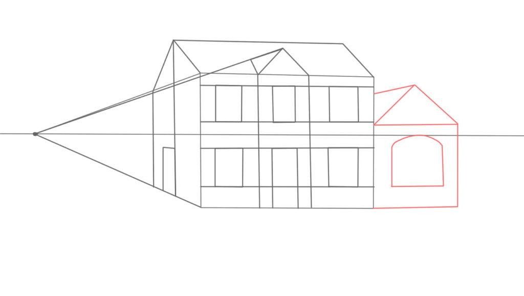Aprender a desenhar casa de lado 13 1024x578 - Como desenhar uma casa de lado