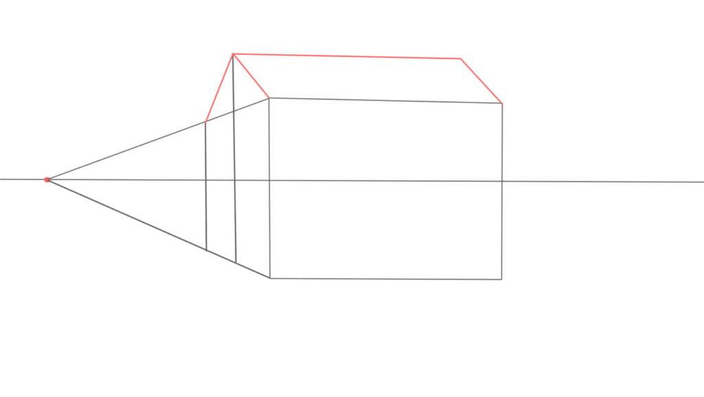 Aprender a desenhar casa de lado 8 1024x578 - Como desenhar uma casa de lado