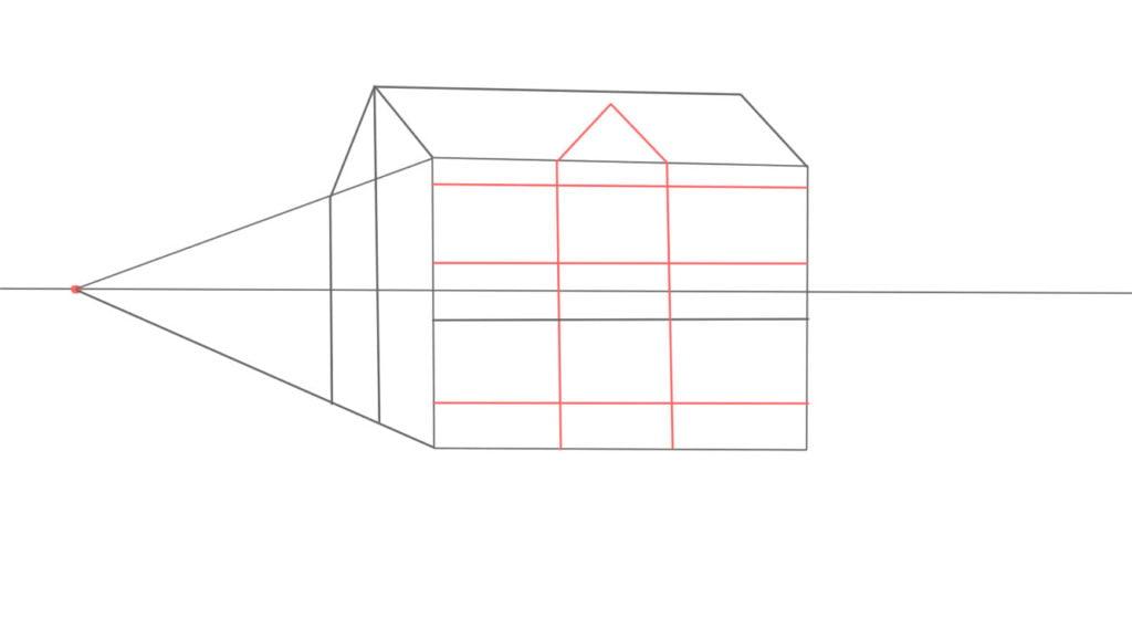 Aprender a desenhar casa de lado 9 1024x578 - Como desenhar uma casa de lado