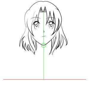 Corpo F 1 1 e1573394523773 - Como desenhar um personagem de anime passo a passo!