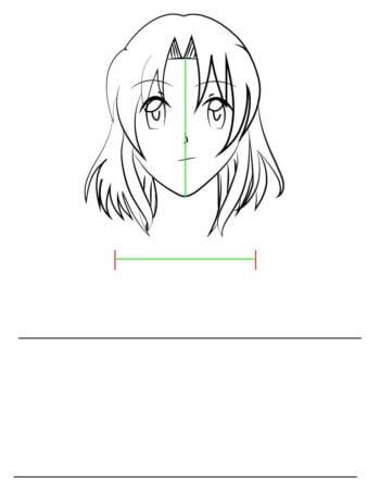 Corpo F 3 1 e1573394788512 - Como desenhar um personagem de anime passo a passo!