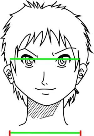 Corpo2 e1573392037233 - Como desenhar um personagem de anime passo a passo!
