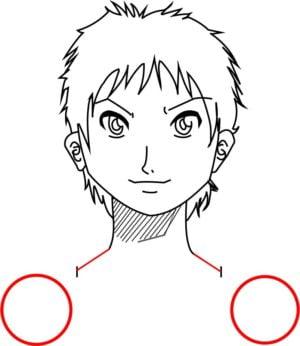 Corpo3 e1573392164635 - Como desenhar um personagem de anime passo a passo!
