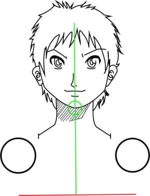 Corpo4 e1573392336841 - Como desenhar um personagem de anime passo a passo!