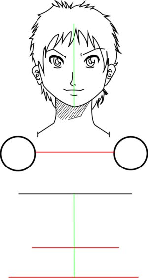 Corpo5 e1573392391353 - Como desenhar um personagem de anime passo a passo!
