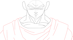 Goku 8  300x165 - Aprenda como desenhar o Goku nesse passo a passo completo!
