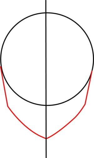 Rosto F 3 1 e1573393819994 - Como desenhar um personagem de anime passo a passo!