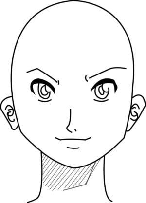Rosto12 e1573391671754 - Como desenhar um personagem de anime passo a passo!