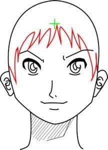 Rosto13 216x300 - Como desenhar um personagem de anime passo a passo!