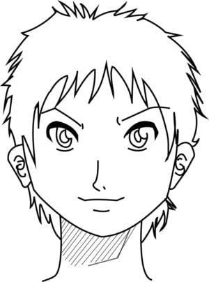 Rosto16 e1573391971838 - Como desenhar um personagem de anime passo a passo!