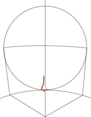 Rosto4 e1573390987569 - Como desenhar um personagem de anime passo a passo!
