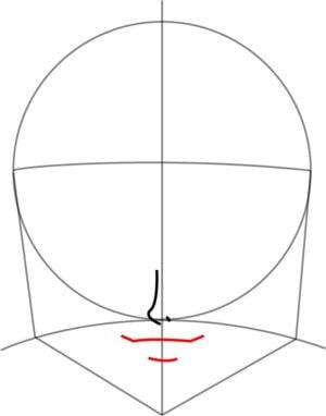 Rosto5 e1573390962671 - Como desenhar um personagem de anime passo a passo!