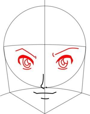 Como Desenhar Um Personagem De Anime Passo A Passo