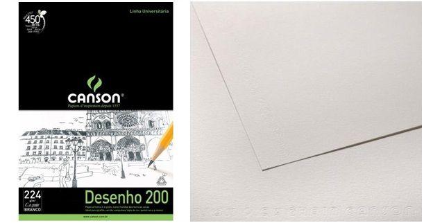 canson desenho avulso a4 branco 1 630 - 8 Materiais que Você Deve ter na Hora de Fazer Desenhos!