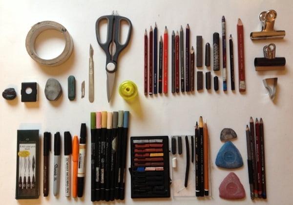 Materiais para fazer desenho realista - 7 Dicas Únicas Para Começar a Fazer Desenhos Detalhados!