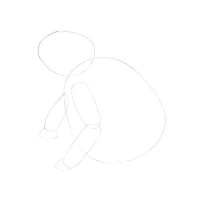 how to draw a frog step by step 4 - Como Desenhar Um Sapo