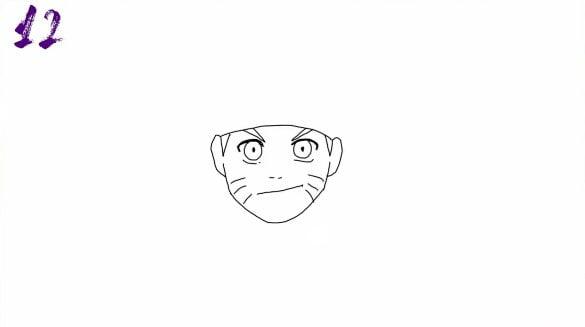 n12 - Como Desenhar o Naruto (Passo a Passo Simples!)