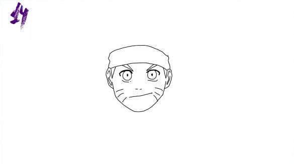 n14 - Como Desenhar o Naruto (Passo a Passo Simples!)