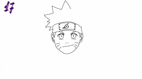 n17 - Como Desenhar o Naruto (Passo a Passo Simples!)