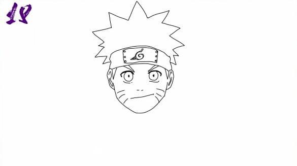 n18 - Como Desenhar o Naruto (Passo a Passo Simples!)