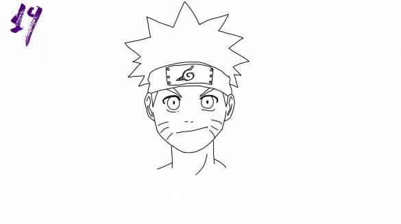 n19 - Como Desenhar o Naruto (Passo a Passo Simples!)