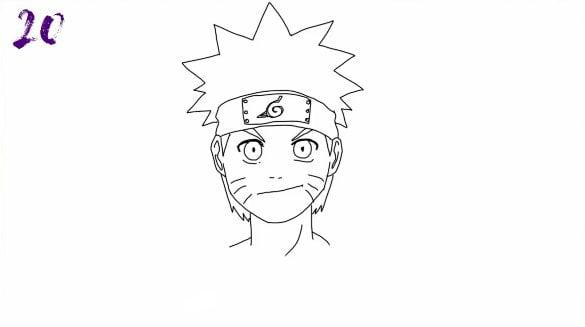 n20 - Como Desenhar o Naruto (Passo a Passo Simples!)