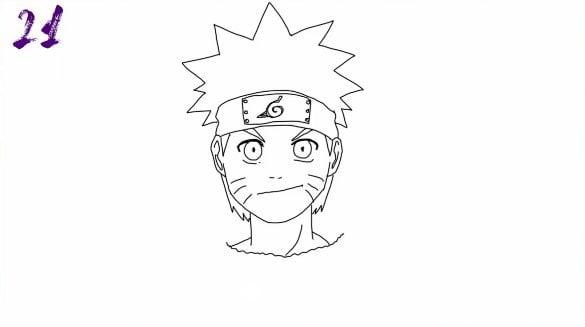 n21 - Como Desenhar o Naruto (Passo a Passo Simples!)
