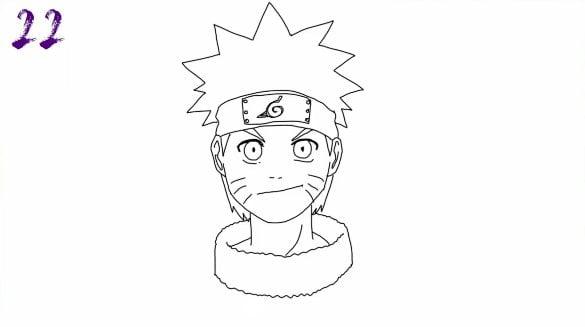 n22 - Como Desenhar o Naruto (Passo a Passo Simples!)