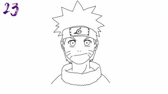 n23 - Como Desenhar o Naruto (Passo a Passo Simples!)