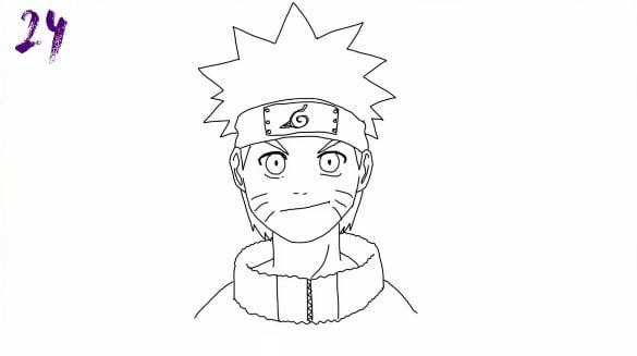 n24 - Como Desenhar o Naruto (Passo a Passo Simples!)