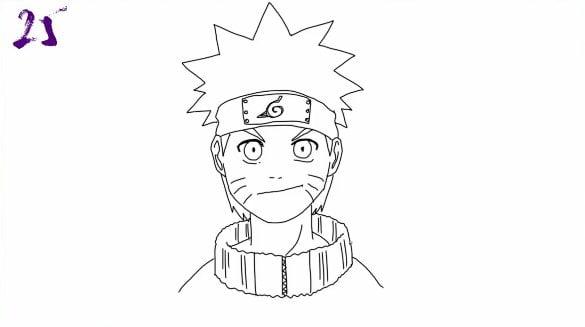 n25 - Como Desenhar o Naruto (Passo a Passo Simples!)