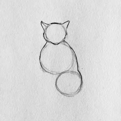 silhueta gato - Como Desenhar Um Gato (Passo a Passo)